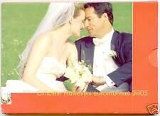 PAYS-BAS COFFRET OFFICIEL BU 2005 MARIAGE 8 PIECES +MÉDAILLE !!!!