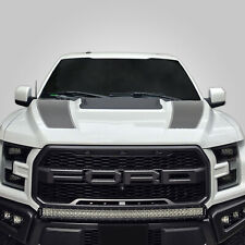 Hood Race Stripe kit for 2017 2018 2019 Ford Raptor F-150 Graphics Decals SILVER