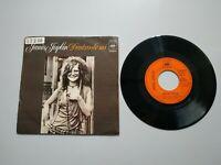0820- JANIS JOPLIN DENTRO DE MI ES 1972 SINGLE VIN 7 POR G + DIS VG +