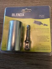 "BLENDX Universal Socket Metric Wrench Power Drill Adapter 1/4"" - 3/4"""