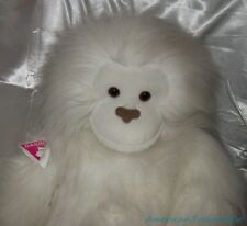 "NEW Vintage 90s Dakin Jumbo Plush 38"" 3Ft+ Fluffy White Super Michiko Gorilla"
