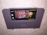 SimCity (Super Nintendo System 1991) SNES Player's Choice Game Cartridge Exc!