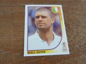 Niall Quinn - Ireland - Panini Korea Japan 2002 Football Sticker - Near Mint!