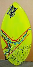 "Zap Skimboards LAZER YELLOW-MULTICOLOR 40"" LZ40 Beach Surfing/Skim Board"