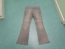 """New Look bootcut Jeans Size 12 Leg 32"""" Black/Grey Faded Ladies Jeans"""