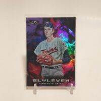 2018 Topps Fire Bert Blyleven Purple Foil 71/99 SP Minnesota Twins #153 HOF