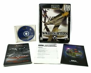 Jane's Combat Simulators WWII Fighters 1999 Big Box PC Game Windows 95/98 CD-ROM
