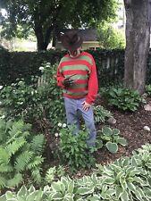 Screen accurate Nightmare on Elm Street One Freddy Krueger Sweater Handmade