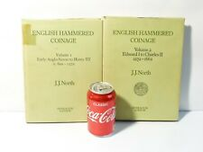 More details for 1980 english hammered coinage volumes 1 & 2 - c600-1662 by j.j. north h/b