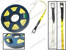 2 Color Blade Surveyor Fiberglass Measuring Long Tape 30M (STR-3000)