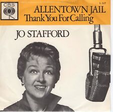 7inch JO STAFFORD	allentown jail HOLLAND EX  YELLOW COVER (S0178)