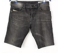 Diesel Hommes Tepphar Slim Stretch Short Jeans Bermuda Taille W30 AVZ1493