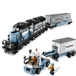 Maersk Train Model Building Block 1237 PCS