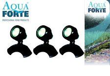 Aquaforte Teich & Garten LED Lampen 3 x 3 Watt - Trocken und Unterwasser 12 Volt