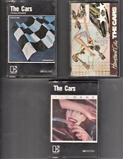 The Cars - 3 x Cassettes- Panorama/The Cars/Heartbreak City - (German/Spanish)