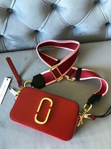 Marc Jacobs the Snapshot Small Women's Camera Bag - Red multi