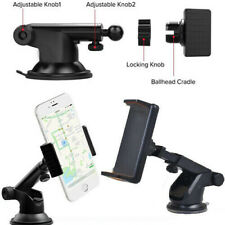 360° Adjustable Dashboard Car Mount Suction Cup Holder For iPhone Samsung Huawei