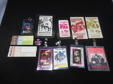 Lot Vintage 1970s 1980s FLEETWOOD MAC Stevie Nicks Backstage Passes Tickets Pin
