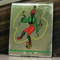 Vintage Matchbook Cover T6 Wisconsin Milwaukee Hotel Blackmoor Cocktail Jester