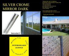 "24"" x5' Silver Chrome Mirror Commercial 2 ply extra Dark Intersolar® 1%"