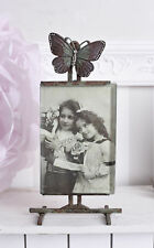 Picture frame anitque style photo frame glass and metal nostalgia framework new