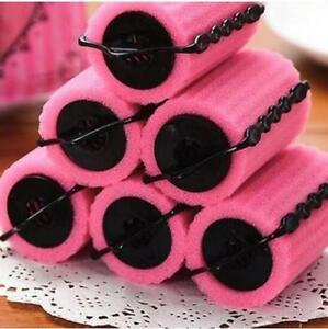 6pcs Sleeping Hair Curlers Sponge Hair Roller Large Pear Hair Tool Sponge 6pcs