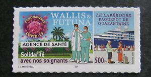 Wallis et Futuna 2020 - Autoadhésif - Le Laperouse paquebot de quarantaine