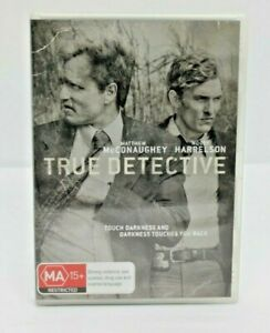 'True Detective' The Complete First Series - Matthew McConaughey, Woody - 3 DVD