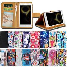 Para teléfonos inteligentes Lenovo K Serie-cuero inteligente con soporte billetera Cubierta Estuche