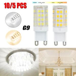 10 Pack LED G9 Warm/Daylight White LED Corn Bulb Lamp Light 120V AC US Shipping