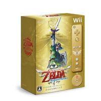 Used Wii The Legend of Zelda: Skyward Sword 25th Anniversary Memorial Pack Japan