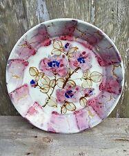 Vintage David Batz studio pottery stoneware glazed charger 12.5 inches