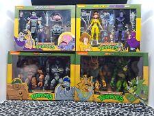? TMNT Ninja Turtles NECA Lot April Foot Soldier Zarax Zork Traag Shredder Krang