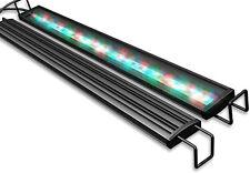 Aquarium Light LED 48 Inch Black Built-in WiFi Multi-Color Full-Spectrum RGB