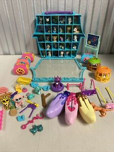Vintage Just Play Puppy & Kitty in my Pocket Toy Lot w/ Case & Accessories