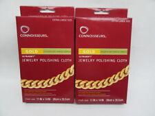 Connoisseurs Ultrasoft® Gold Jewelry Anti Tarnish Polishing Cloth