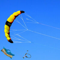 3m² 3 Line Trainer Power Kite Kitesurfing with Line and Bar Kiteboarding for Fun