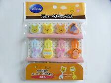 NEW!! Disney Winnie the Pooh Food Fork Picks Japanese Bento Accessories