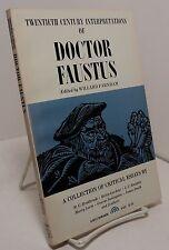 Twentieth Century Interpretations of Doctor Faustus by Christopher Marlowe
