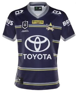 BNWT 2021 NORTH QUEENSLAND COWBOYS NRL PLAYERS SHIRT TOP RUGBY LEAGUE NEW 🏉🔥