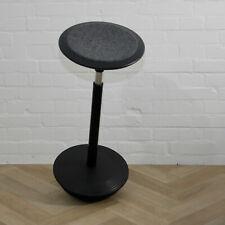 Wilkhahn Stitz Sitz Stehhilfe Design Grey Felt Stehhocker Ergonomic stool