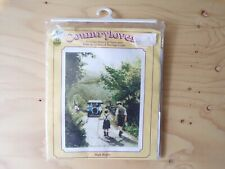 """Heritage Country Lovers """"High Hopes"""" Cross-Stitch Kit (NEW) - Crafts Vintage Car"""