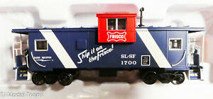 Atlas HO #20005013 (Rd #1700) Frisco (Extended Vision Caboose) NEW ITEM