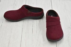 Merrell Dassie Stitch Wool Blend Slip On Clogs, Women's Size 5M, Raisin NEW