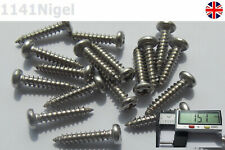 14mm x M3 Stainless Steel Round Head Screws High Strength Self-Tapping -