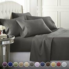 Danjor Linens 6 Piece Hotel Luxury Soft 1800 Series Premium Bed Sheets Set De.