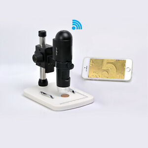 reflecta DigiMicroscope WiFi -- 200X Mikroskop mit Funkverbindung + USB (66141)
