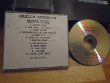 RARE ADV PROMO Marlon Roudette CD Matter Fixed pop MATTAFIX Finley Quaye Kwame !