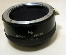 Nikon F M2 Nikkor extension tube macro genuine original for 55mm micro