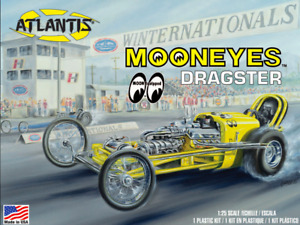 Mooneyes Dragster by  Atlantis mint sealed box